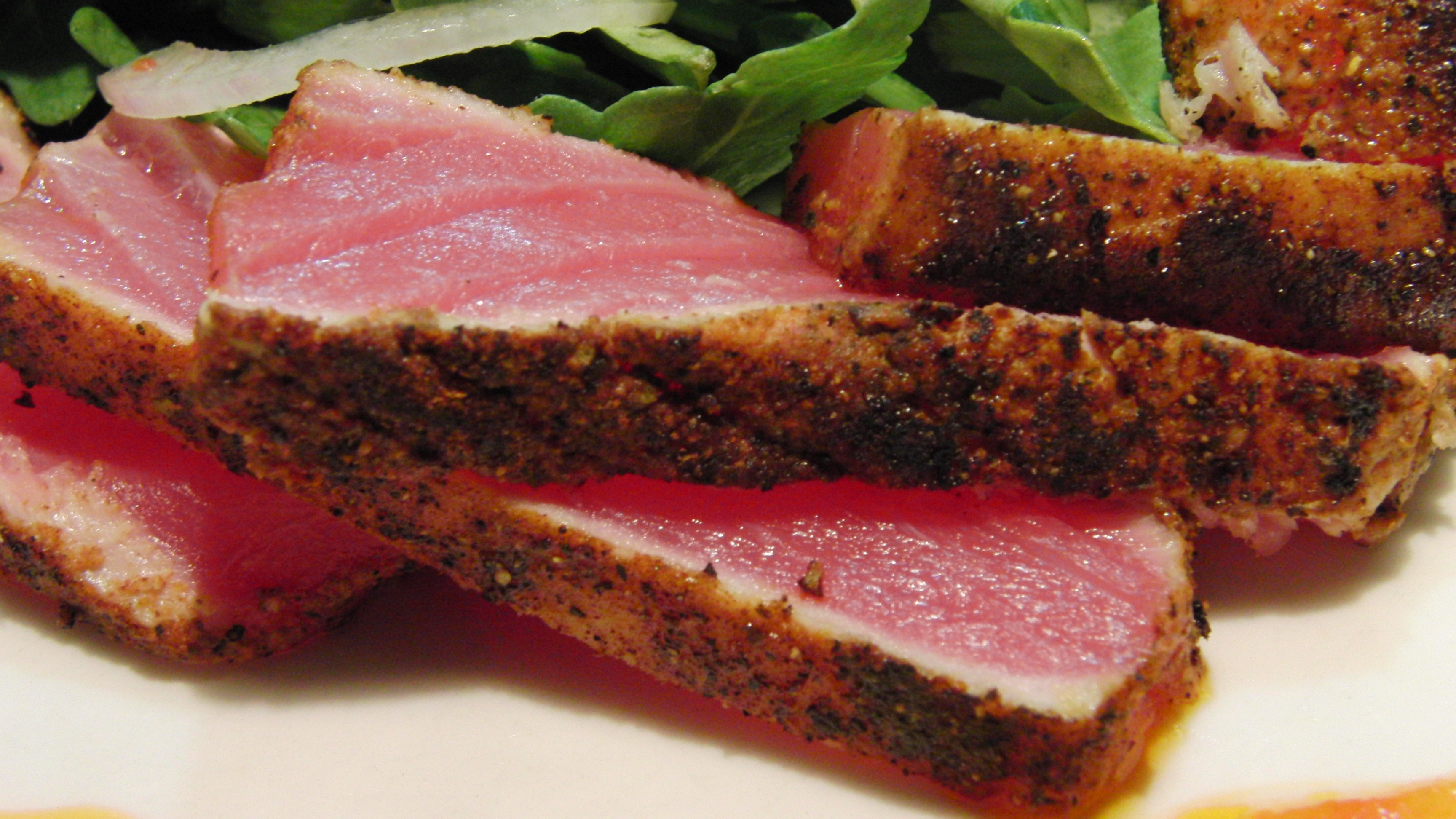 African Adobo-Rubbed Tuna Recipe — Dishmaps