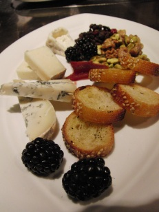 Chef's selection of imported and domestic cheeses
