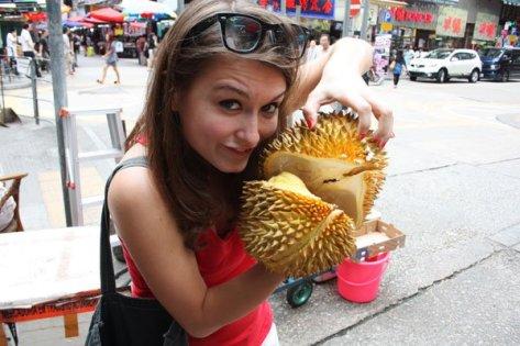 Durian in Hong Kong