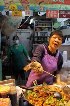 Street food in Mong Kok