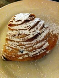 Sfogliatelle at Cafe Zucchero
