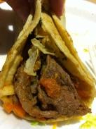 Carne Asada Burrito at El Indio in Mission Hills
