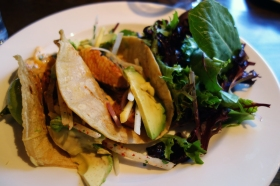 Fish tacos at Prep Kitchen