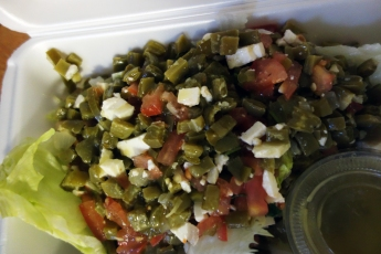 Nopalitos Salad from Bolillo Tortas