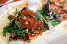Carnitas Taco at Taqueria Cancun