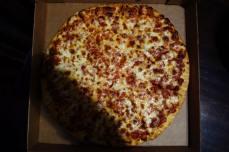 Thin Cheese Zachary's Chicago Pizza