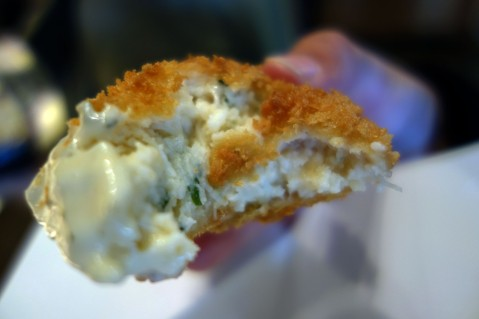 Crab Croquettes at Ferry Building Marketplace