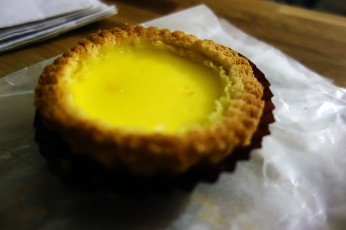 Little tart at The New World Mall in Flushing, Queens
