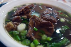 Beef Pulled Noodle at The New World Mall in Flushing, Queens