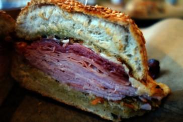 Muffaletta sandwich in Washington DC