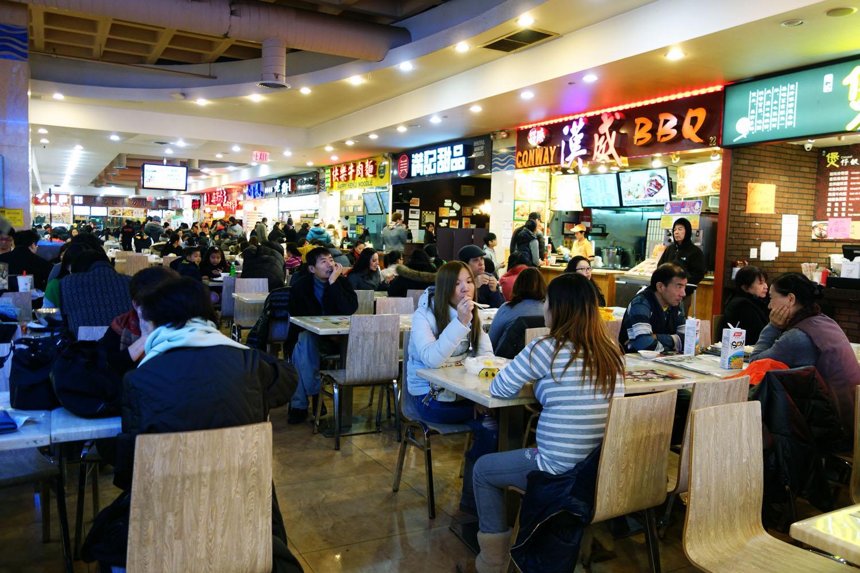 Chinatown Food Court Nyc