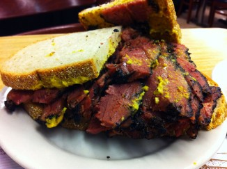 Pastrami on Rye at Katz´s