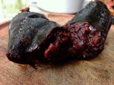 Morcilla black sausage