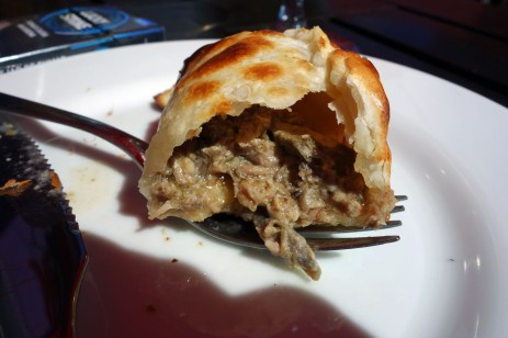 Lamb empanada in Calafate