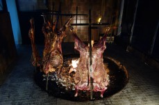 Lamb on a cross