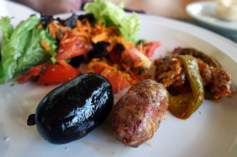 Morcilla and Chorizo