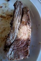 One of the whole trinity of Argentine asado: Vacio