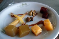 Cheeses and Quince Paste at Bodegas Nieto Senetiner