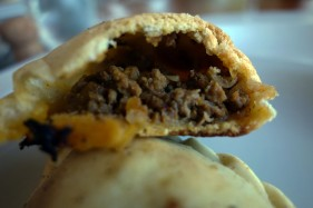 The Best Carne Empanada at Bodegas Nieto Senetiner