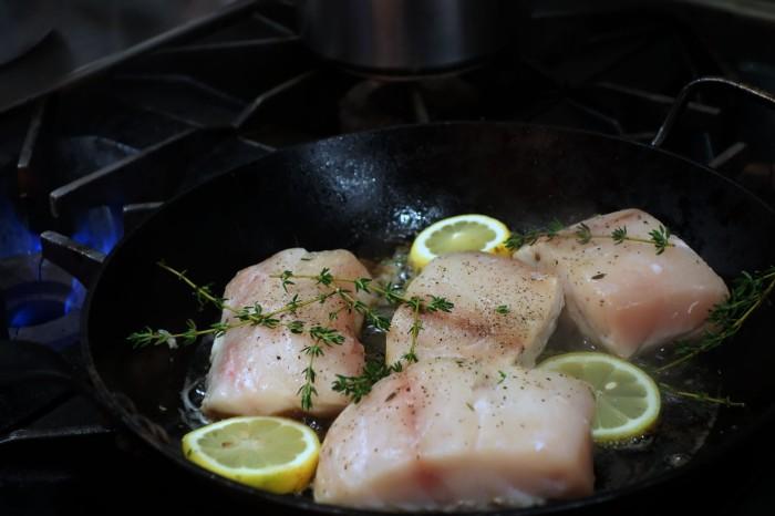 Rockfish Searing