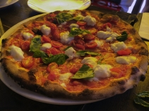 Wonderful Pizza at Numero 28 in the village