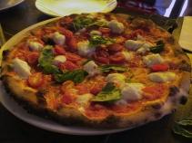 Wonderful Pizza at Numero 28 in the village