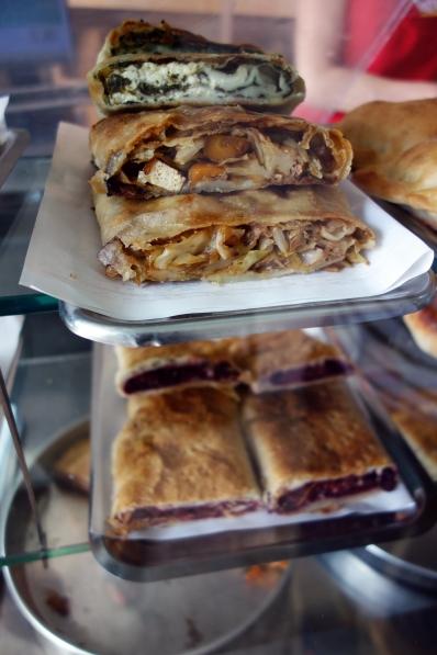Savory zavitek (strudel type pastry)