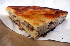 Burek with meat