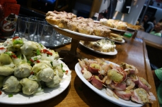 Pickled pintxos and tuna at Casa Bartolo