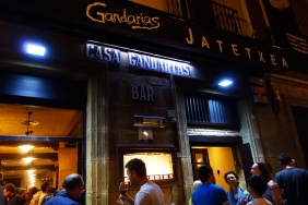 My favorite pintxo bar Gandarias