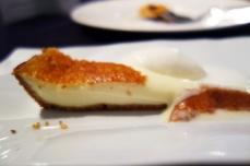 Basque cheese tart at Zuberoa in Oiartzun