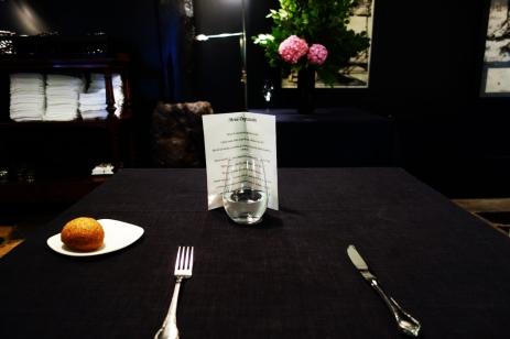 Tasting menu for one at Zuberoa in Oiartzun