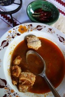 Halászlé, traditional fisherman´s soup
