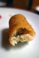 Croquetas de bacalao, codfish croquette