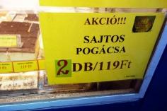 Hungarian puff pastry, pogácsa