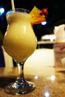 The famous pina colada