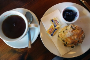 A scone in the town of Cong