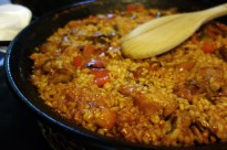 A paella at Can Pep