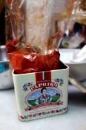 Beautiful, bright red smoked paprika powder.