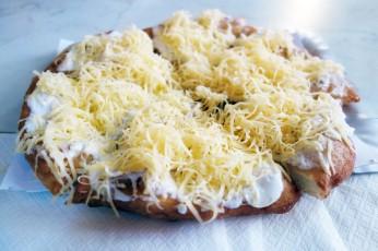 Lángos fried dough