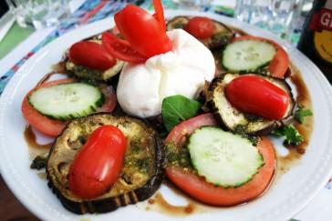 A little salad Le Gordes-Manger