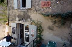 Le Gordes-Manger in the town of Gordes