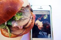 wild boar burger