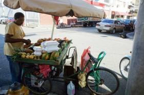 Fresh fruit stand