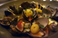 Hog Island Clams Cooked in the Wood Oven at Chez Panisse