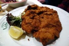Veal Weiner Schnitzel at AMON's Gastwirtschaft