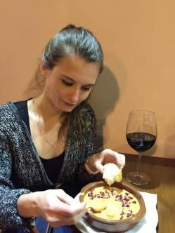 Salmorejo at Bar La Cávea in Córdoba