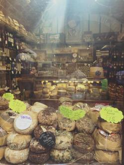 Pecorinos in San Gimignano