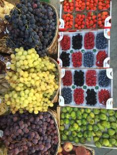 Fruit in Siena