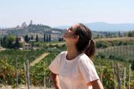 Chilling in San Gimignano